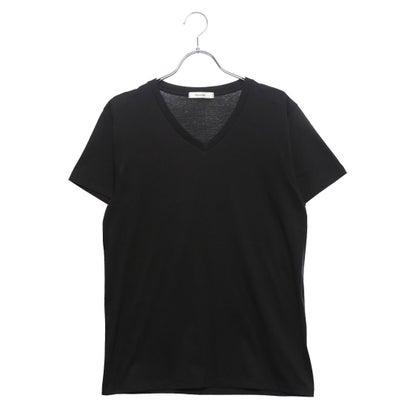 リネーム Rename VネックTシャツ (ブラック)