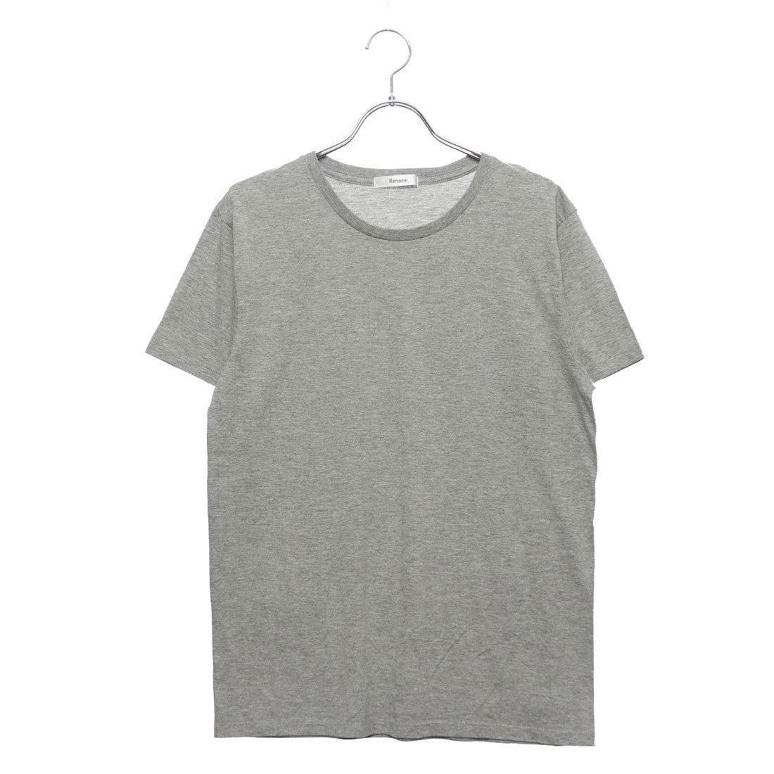 ロコンド 靴とファッションの通販サイトリネーム Rename クルーネックTシャツ (グレー)
