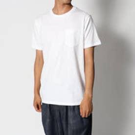 リネーム Rename ポケット付きTシャツ (ホワイト)