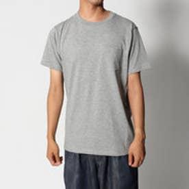リネーム Rename ポケット付きTシャツ (グレー)
