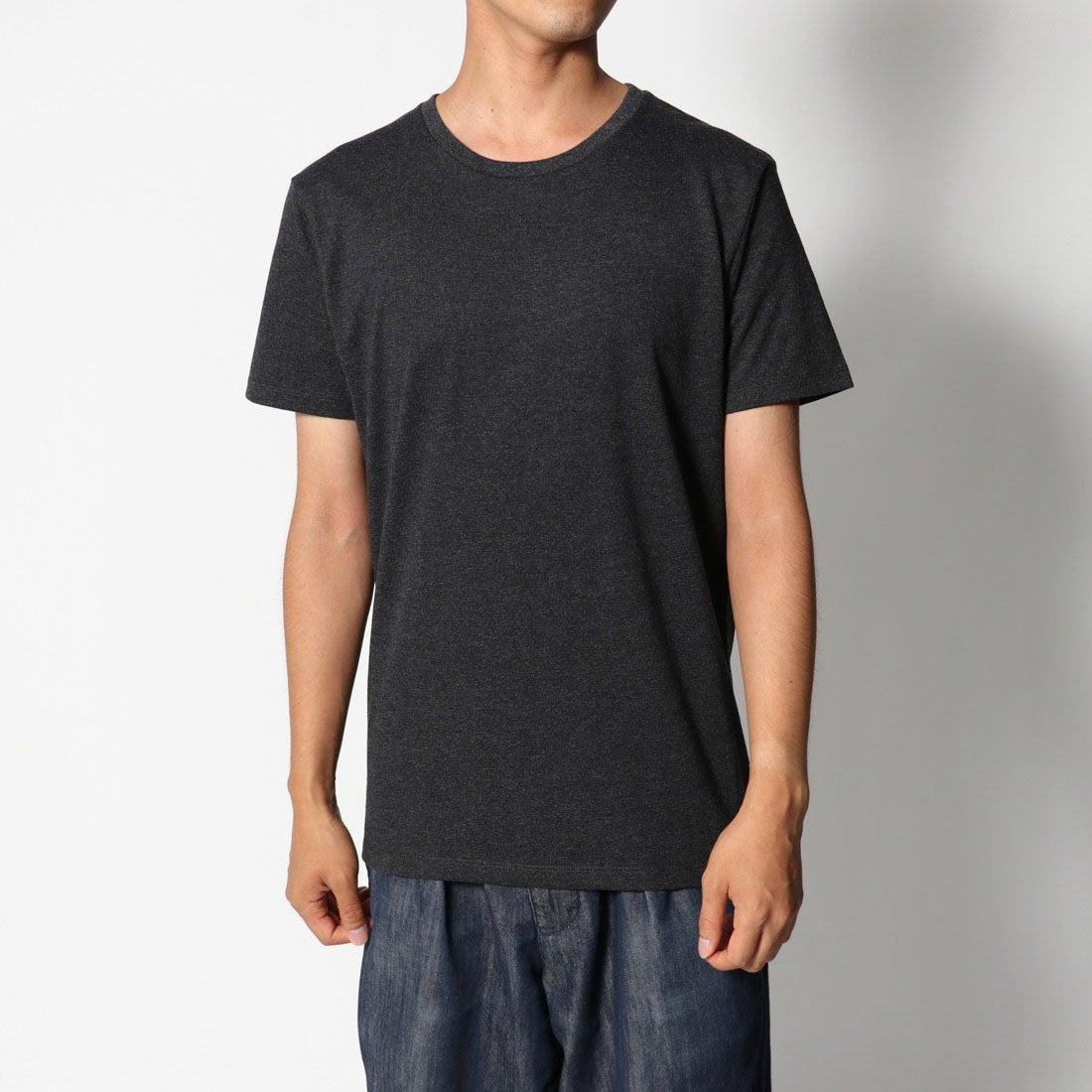 ロコンド 靴とファッションの通販サイトリネーム Rename クルーネックヘビーウェイトTシャツ (ブラック)