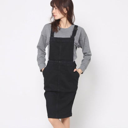 リネーム Rename 2wayタイトサロペットスカート (ブラック)