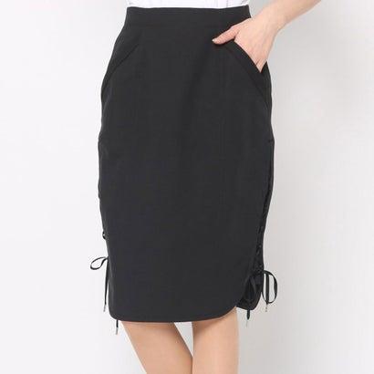 リネーム Rename サイドレースアップスカート (ブラック)
