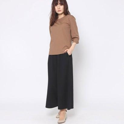 リネーム Rename Tシャツ+パンツ2点セット (ベージュ×ブラック)