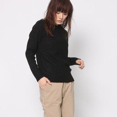 リネーム Rename 変わり編みセーター (ブラック)