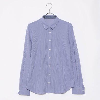 リネーム Rename カットソーストライプシャツ (ブルー)