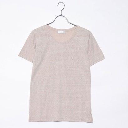リネーム Rename 杢クルーネックTシャツ (ベージュ)