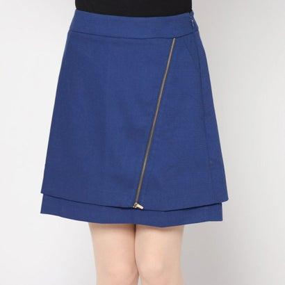 リネーム Rename ジップデザインスカート (ブルー)