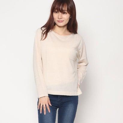 リネーム Rename 胸ポケットセーター (ライトベージュモク)