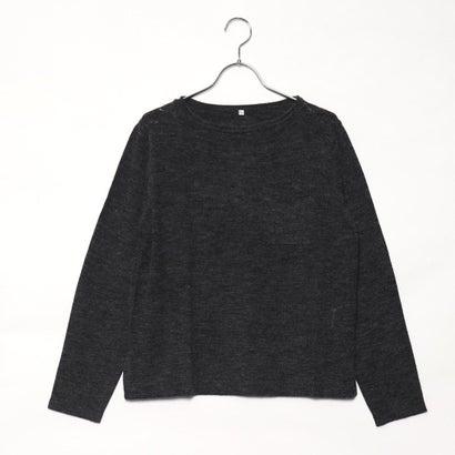 リネーム Rename 胸ポケットセーター (チャコールグレーモク)