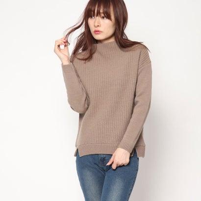 リネーム Rename ウール100%ボトルセーター (モカブラウン)