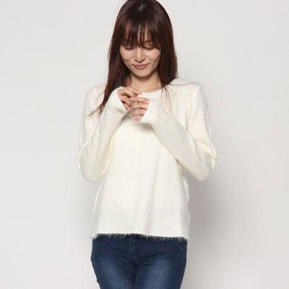 リネーム Rename 起毛クルーネックセーター (オフホワイト)