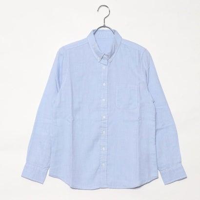 リネーム Rename オックスボタンダウンシャツ (サックス)