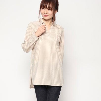 リネーム Rename ギンガムチュニックシャツ (ベージュ)
