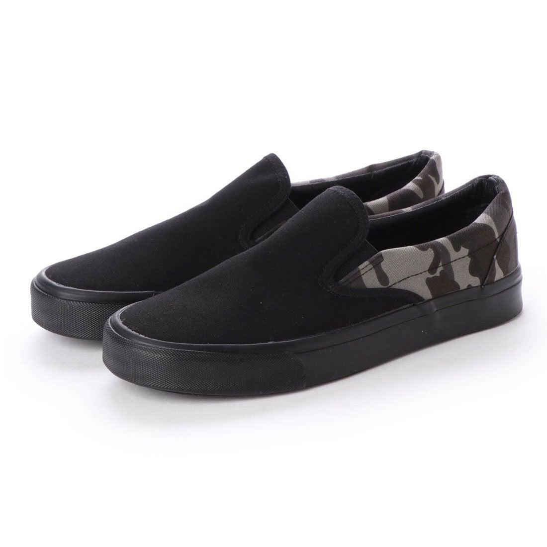 d1aa2e79fb3e38 ブラッチャーノ Bracciano スリッポンスニーカー (BLACK/CAMO) -靴&ファッション通販 ロコンド〜自宅で試着、気軽に返品