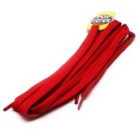 シューレース SHOELACE 8mm シューレース(140cm) (RED)