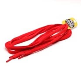 シューレース SHOELACE 7mmオーバルシューレース (RED)