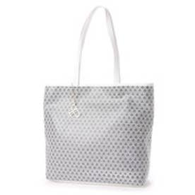 フォーパ パリ FAUX PAS PARIS Monogram Tote Bag (White)
