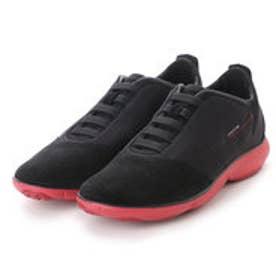 ジェオックス GEOX SNEAKERS (BLACK/RED)