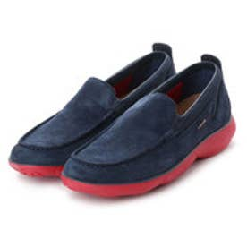 ジェオックス GEOX MOCCASINS (BLUE/RED)