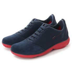 ジェオックス GEOX SNEAKERS (BLUE/RED)