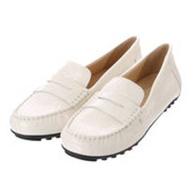 ジェオックス GEOX MOCCASINS (OFF WHITE)