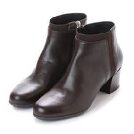 ジェオックス GEOX ANKLE BOOTS (COFFEE)