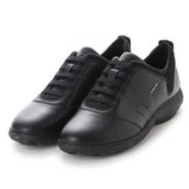 ジェオックス GEOX SNEAKERS (BLACK/BLACK)