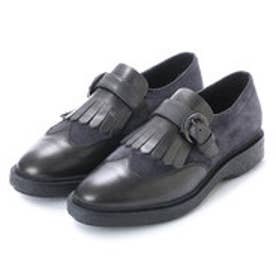 ジェオックス GEOX SHOES (GUN/ANTHRACITE)