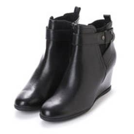 ジェオックス GEOX ANKLE BOOTS (BLACK)