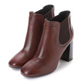 ジェオックス GEOX ANKLE BOOTS (BROWN)