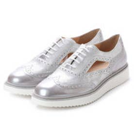 ジェオックス GEOX SHOES (LT GREY/OFF WHITE)