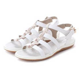 ジェオックス GEOX SANDALS (WHITE/LT BEIGE)