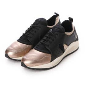 ジェオックス GEOX SNEAKERS (LT BRONZE/BLACK)