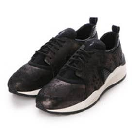 ジェオックス GEOX SNEAKERS (GUN/BLACK)