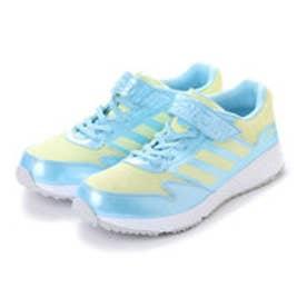 ASBee adidas(アディダス) ADIDASFAITO EL K(アディダスファイトELK) CP9737 アイシーブルー/アイシーイエロー/クリアグレー