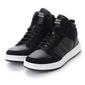 ASBee アディダス adidas CLOUDFOAM NEOBIG TANN(クラウドフォームネオビッグタン) BB9920 (コアブラック/コアブラック/クリスタルホワイト)