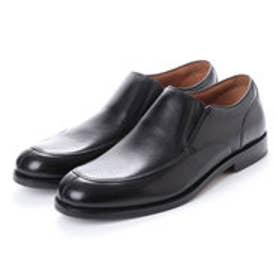 ASBee クラークス Clarks Coling Step Black Lea (ブラック)