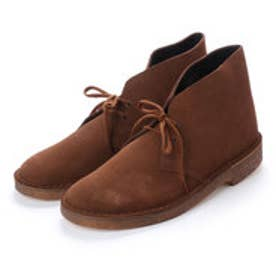 ASBee クラークス Clarks Desert Boot Cola Suede (ブラウン)