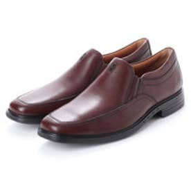 ASBee クラークス Clarks Unbrylan Lane Brown Lea (ブラウン)