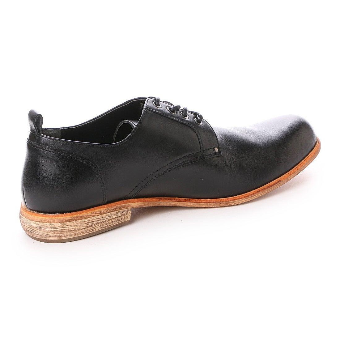 ASBee リー Lee メンズ 本革カジュアルシューズ(オックスフォードシューズ) 52440 (ブラック) ,靴とファッションの通販サイト ロコンド