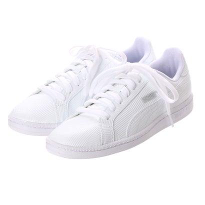 7b89931a42f プーマ PUMA SMASH DEBOSS(スマッシュデボス) 363613 (プーマホワイト プーマホワイト) -靴&ファッション通販  ロコンド〜自宅で試着、気軽に返品