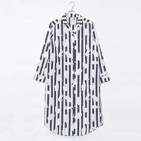 ジェラートピケ gelato pique ポーラーベア柄ドレス (ネイビー)