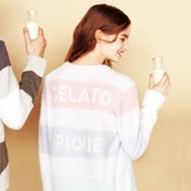 ジェラートピケ gelato pique ベビモコ4BDプルオーバー (ピンク)
