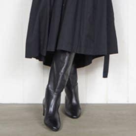 エンチャンテッド enchanted 本革ヒールアップロングブーツ (ブラック)