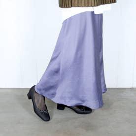 エンチャンテッド enchanted リボンローヒールレインパンプス (ダークグレー)