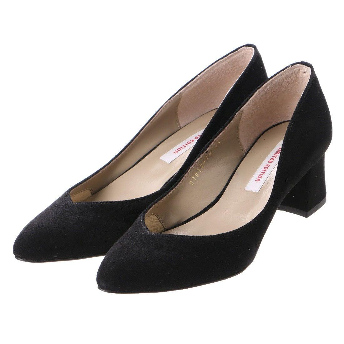 リミテッド エディション LIMITED EDITION パンプス (ブラックスエード) ,靴とファッションの通販サイト ロコンド