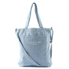 ゲス GUESS DENIM TOTE BAG (MEDIUM BLUE)