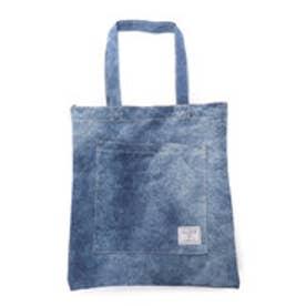 ゲス GUESS DENIM TOTE BAG (DARK BLUE)