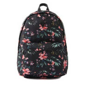 ゲス GUESS FLOWER PRINT BACKPACK (BLACK)